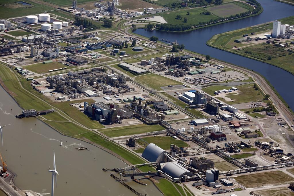 De chemische industrie in Delfzijl