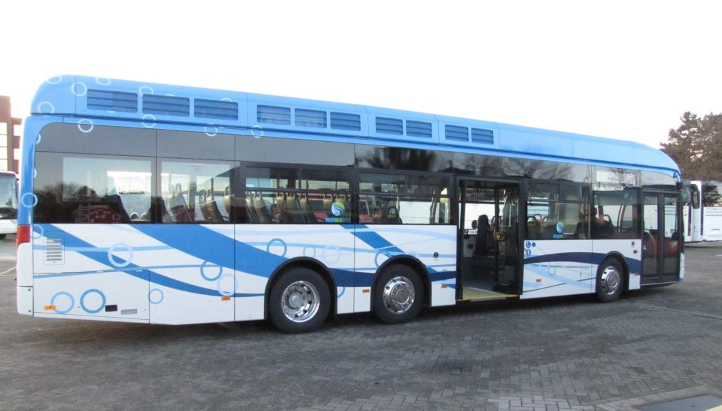 De elektrische bus die eind februari gaat rijden