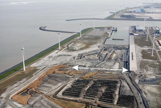 Overzicht van de werkzaamheden rond de verlengde Beatrixhaven