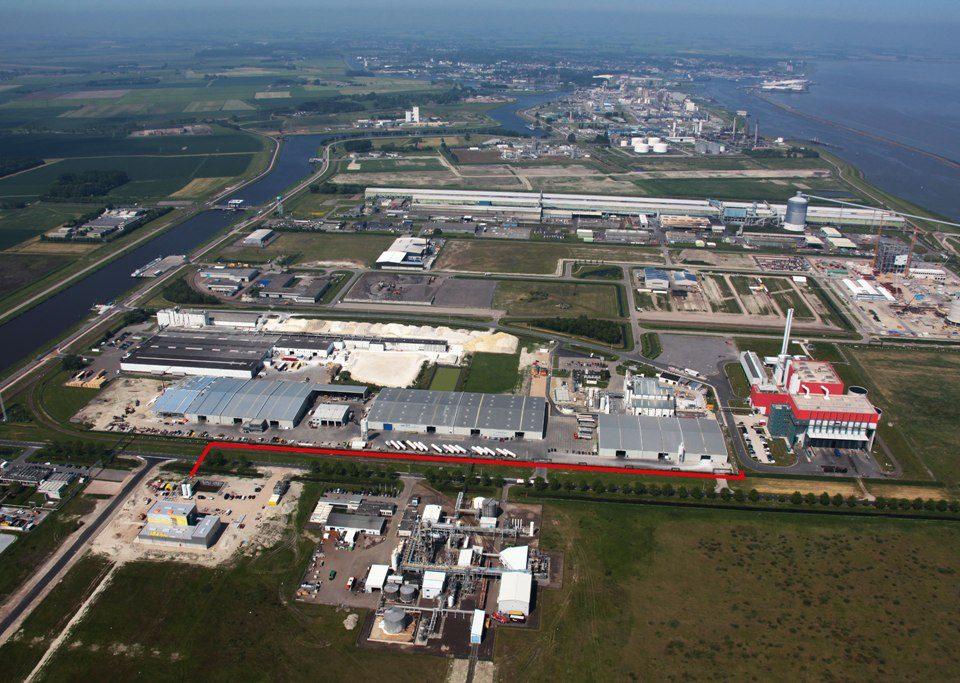 Uitbreiding stoomleiding industrieterrein Delfzijl