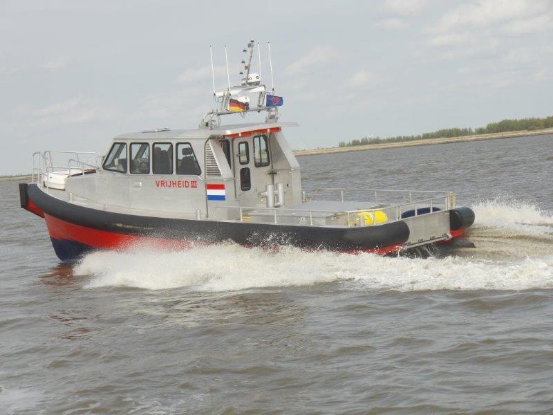 Ubels Offshore heeft de Vrijheid III in de vaart genomen